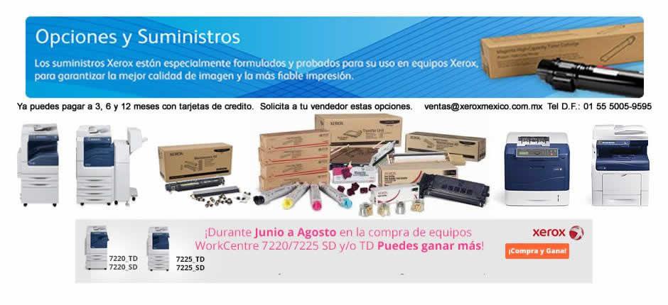 Consumibles Xerox, Toner Cartuchos, Tintas Solidas, Fotoreceptor, Cilondro, Drums.
